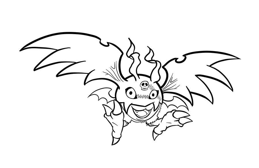 Demidevimon Evolution Line Digimon-DemiDevimon by...
