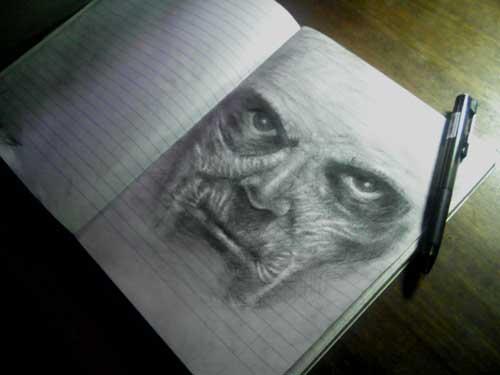 Do cats dream of electric sheep?- Jesús Da Silva´s Sketchbook sb adventures.