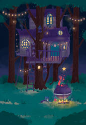Witches Treehouse