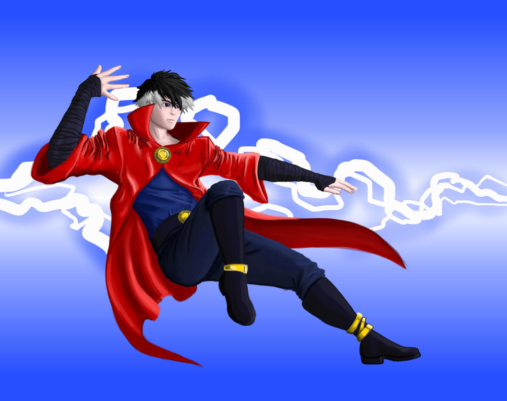 Anime Dr Strange by toasted-chips