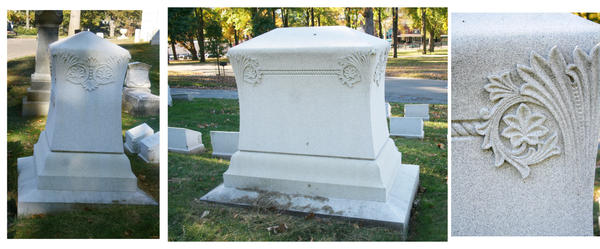 Sample graves 2 by BlueTigressStock