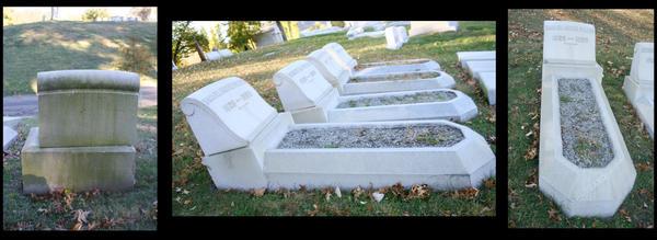 Gravel Grave by BlueTigressStock