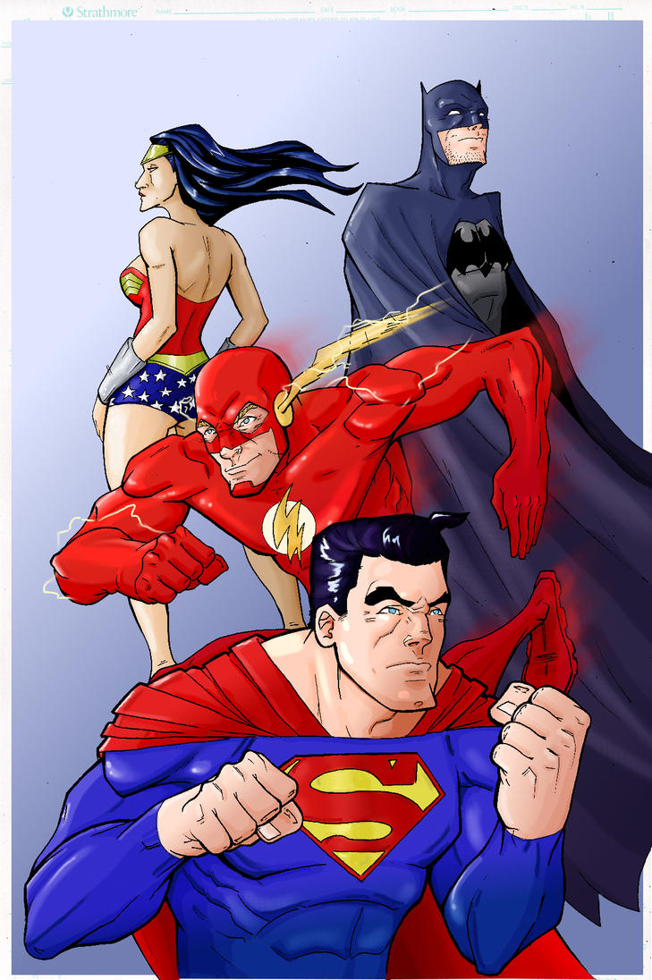 JLA color sample by LucasDuimstra