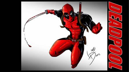Deadpool Background by LucasDuimstra