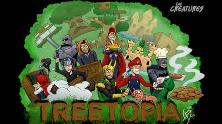 The Creature's Treetopia by LucasDuimstra