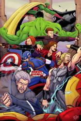 Avengers Assemble! by LucasDuimstra