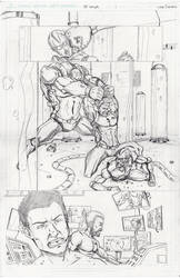 Pencil Sample G-Force 2