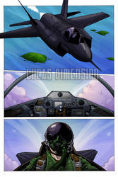 Sandbag comic Issue 1 Color Page 2 - WIP