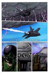 Sandbag comic Issue 1 Color Page 4 - WIP