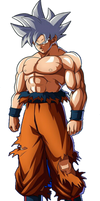 Goku Migatte No Gokui In The Dragon Ball Figthers
