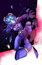 Krystal Space Suit Peril by chow11