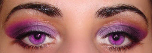 Purple Eyes by AgoraMAKEUPArtist