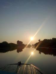 Sunrise - Danube Delta by remousse