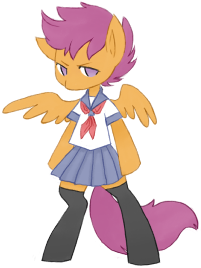 Scootafuku by LaLucca