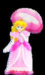 Princess Peach MMD render 2