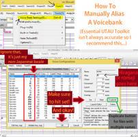How to Manually Alias an UTAU Voicebank by OcarinaLink24