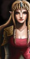 Princess of Hyrule by NostalgiaBomb