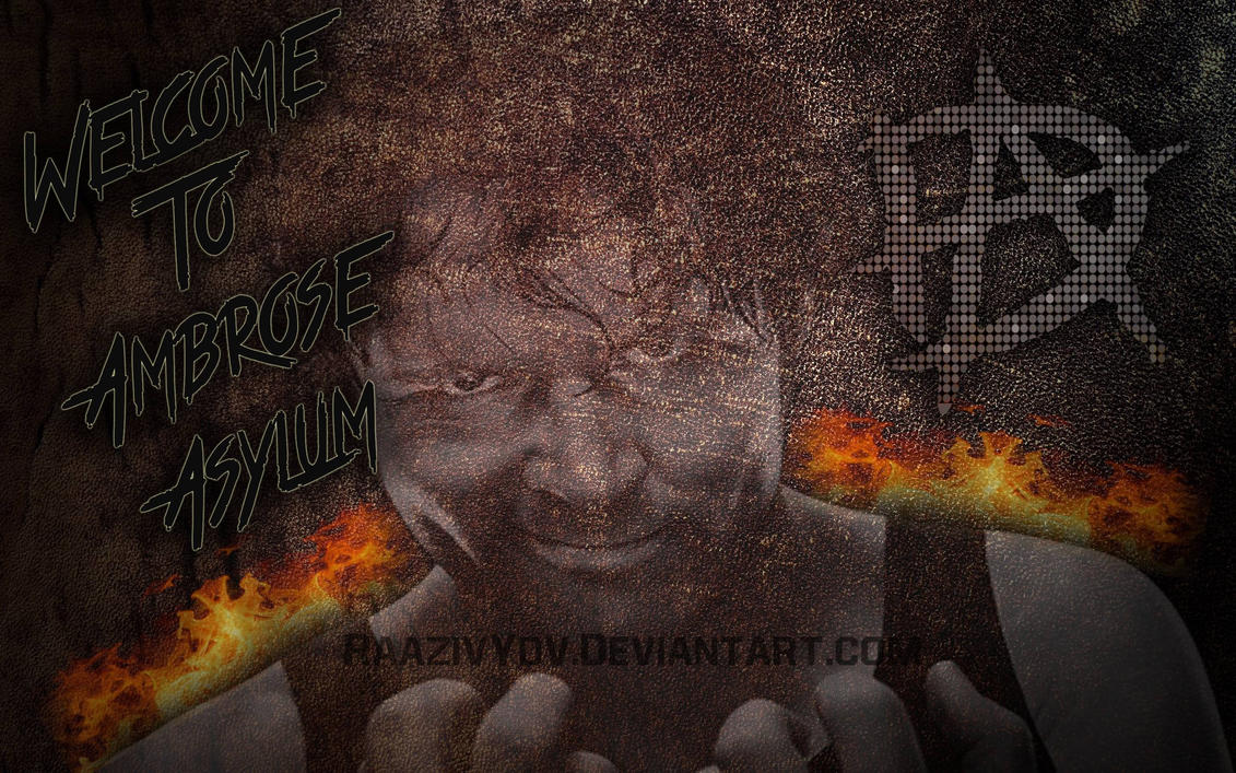 welcome to ambrose asylum wallpaperraazivydv on deviantart