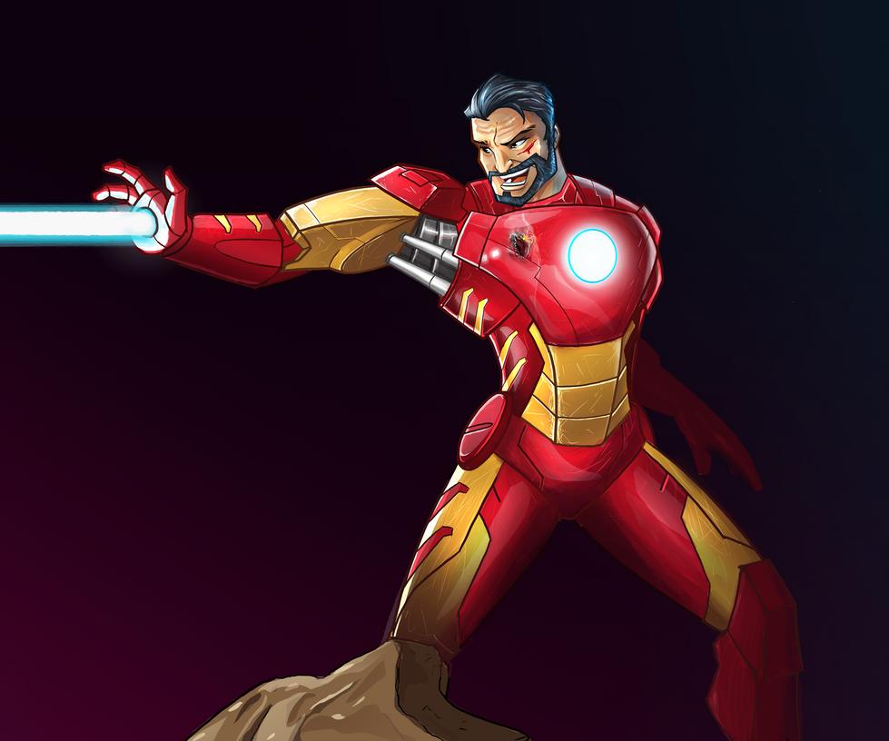 Tony Stark by andymonstART