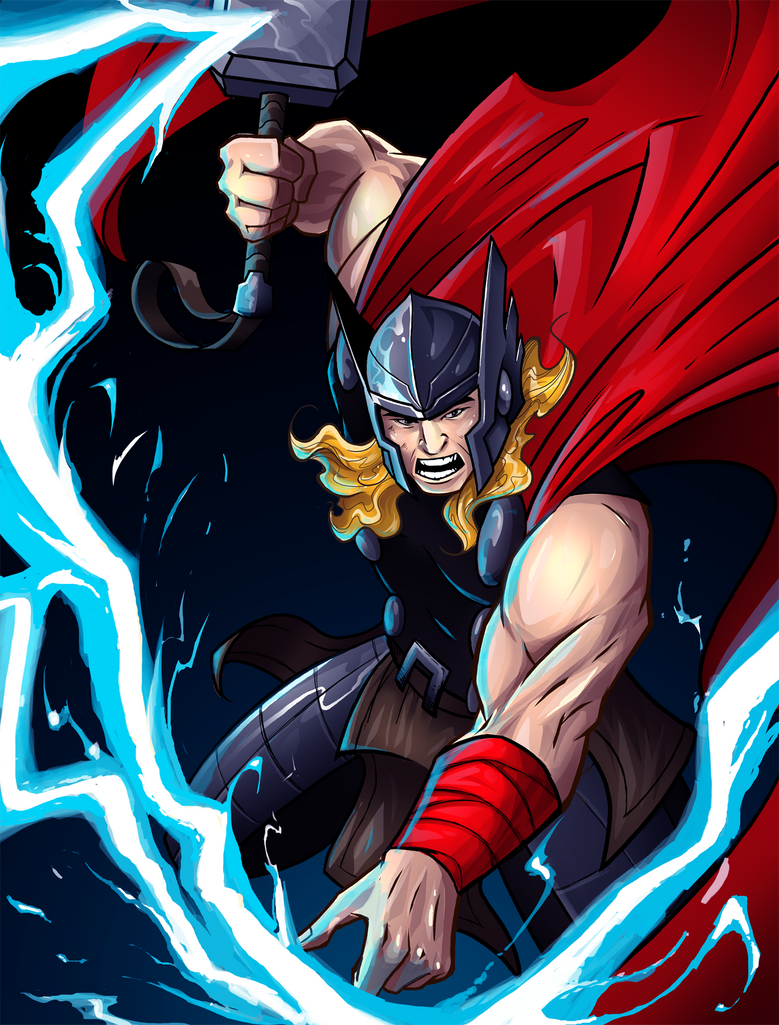 Thor by andymonstART