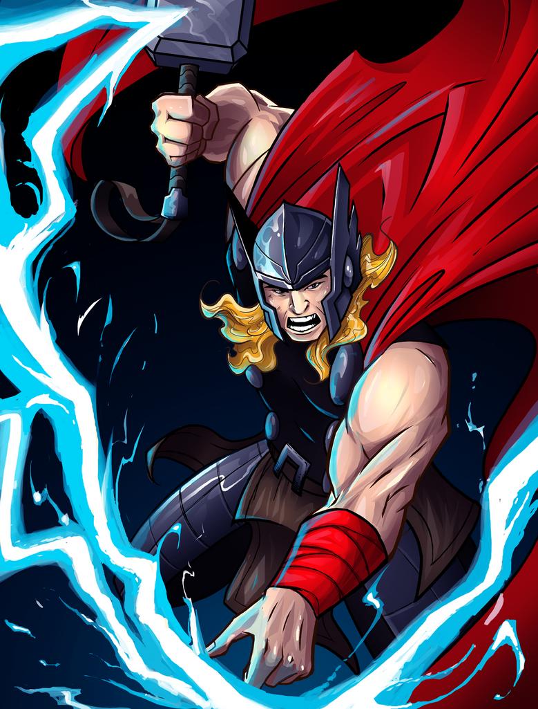 Thor by andymonstART
