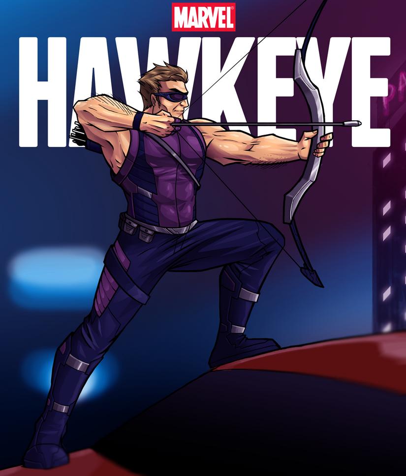 Hawkeye by andymonstART