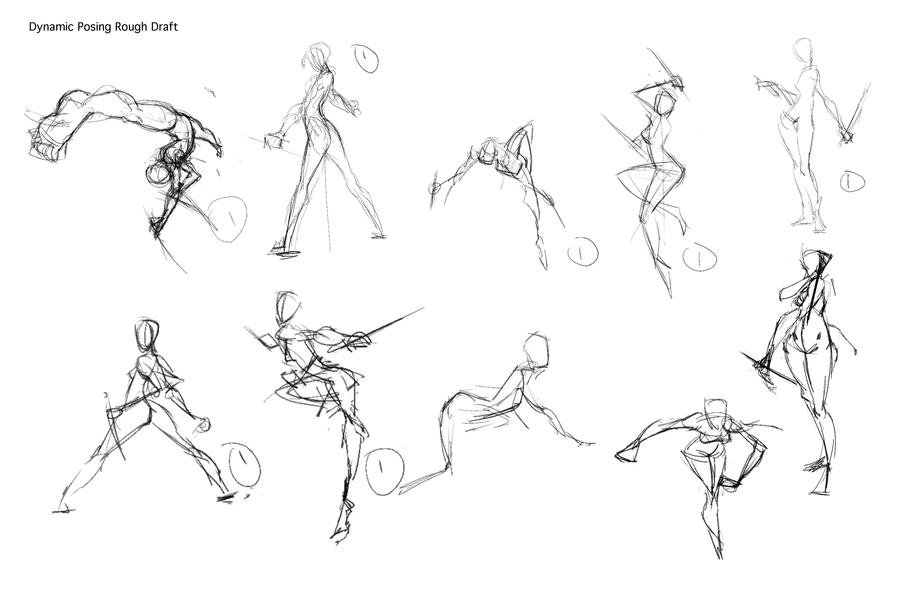 How to Draw Dynamic Poses by JetEffects