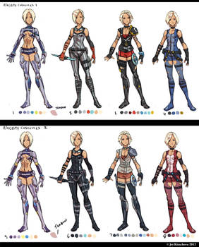 Alacrity Costume Colors 1