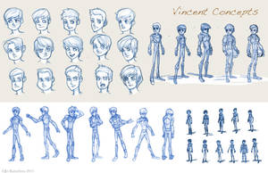 Vincent Concept Art by THEJETTYJETSHOW