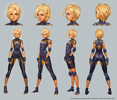 Alacrity Body Suit Turnaround