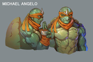 Michael Angelo by THEJETTYJETSHOW
