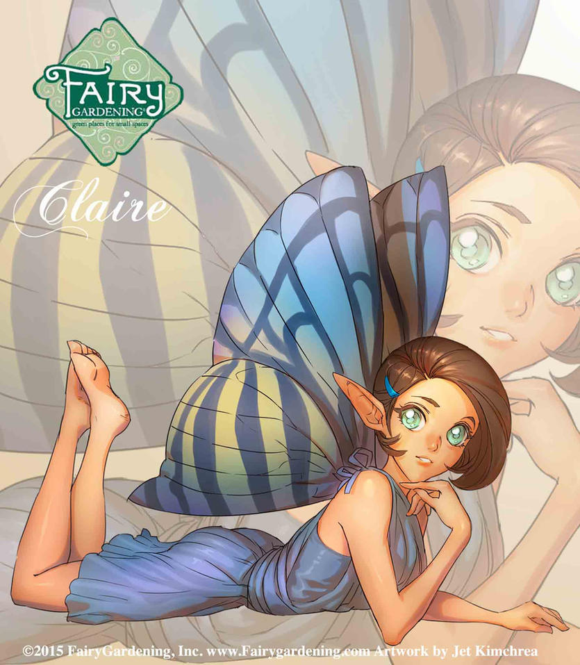 Fairy Gardening - Claire by JetEffects