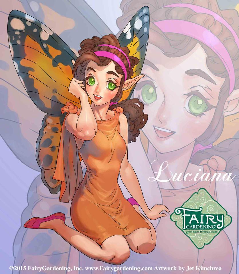 Fairy Gardening - Luciana by JetEffects