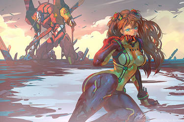 Asuka Survives Another Impact by THEJETTYJETSHOW