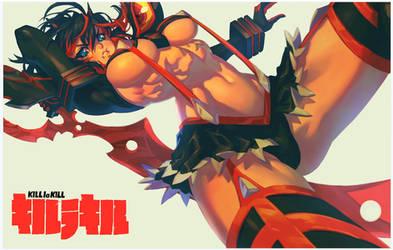 Ryuko Matoi Print