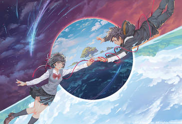 Kimi No Nawa :Floating in Time by THEJETTYJETSHOW