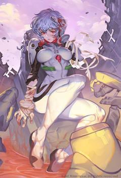 Rei Ayanami Capsule Explodes