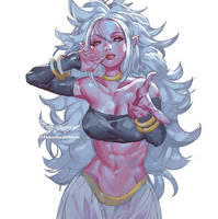 Android 21 Majin by THEJETTYJETSHOW