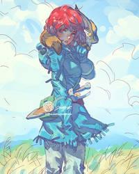 Nausicaa Alison By JettyJet by THEJETTYJETSHOW