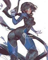 Makoto Persona 5 by THEJETTYJETSHOW