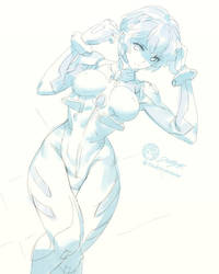 Dailysketch 44 #ReiAyanami