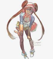 #Mei Aka #Rosa From #Pokemon BWVer 2