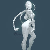 #Cammy Of #StreetFighter Daily Sketch