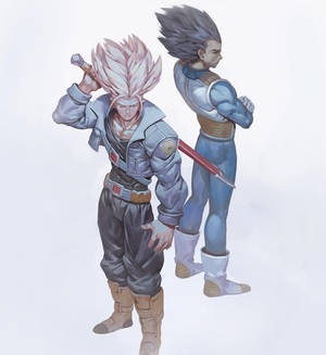 Trunks and Vegeta