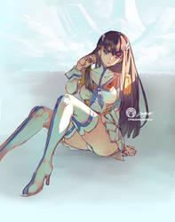Lady Satsuki Color Rough