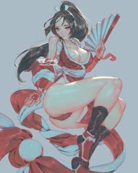 Mai Shiranui Color Rough By Jetty
