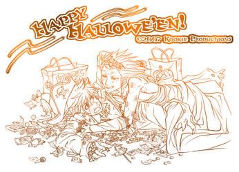 Akuroku - Happy Hallowe'en by Nijuuni