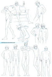 Naked Men References by Nijuuni