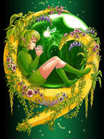 Zelda - Spirits of the Forest by Nijuuni
