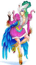 Crazy Bird Lady by Nijuuni